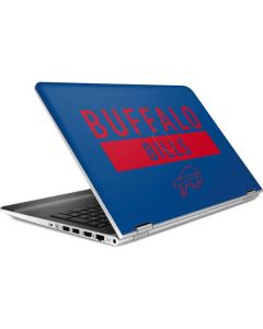 Buffalo Bills Blue Performance Series HP Pavilion Skin