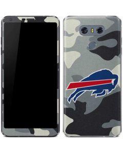 Buffalo Bills Camo LG G6 Skin