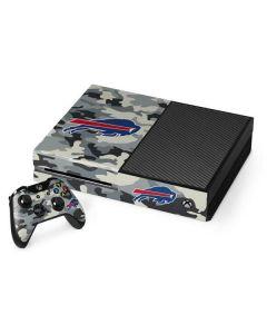 Buffalo Bills Camo Xbox One Console and Controller Bundle Skin