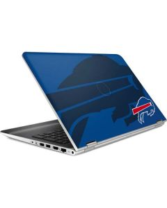 Buffalo Bills Double Vision HP Pavilion Skin