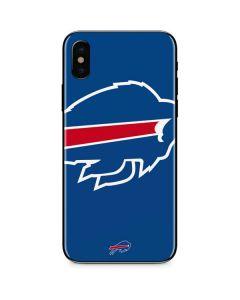Buffalo Bills Large Logo iPhone XS Skin