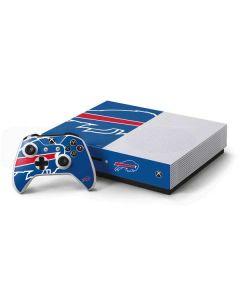 Buffalo Bills Large Logo Xbox One S Console and Controller Bundle Skin