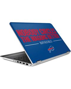 Buffalo Bills Team Motto HP Pavilion Skin