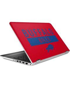 Buffalo Bills Red Performance Series HP Pavilion Skin