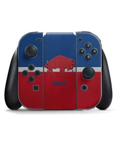Buffalo Bills Vintage Nintendo Switch Joy Con Controller Skin