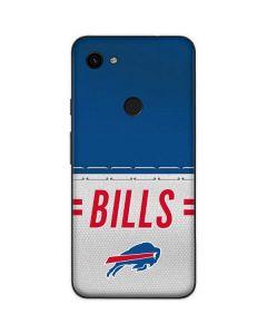 Buffalo Bills White Striped Google Pixel 3a Skin
