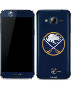Buffalo Sabres Distressed Galaxy J3 Skin