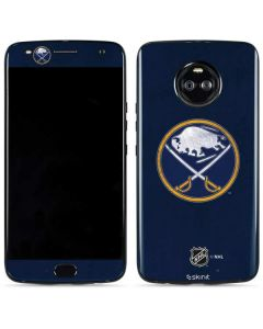 Buffalo Sabres Distressed Moto X4 Skin