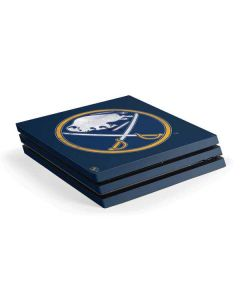 Buffalo Sabres Distressed PS4 Pro Console Skin