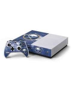 Buffalo Sabres Frozen Xbox One S Console and Controller Bundle Skin