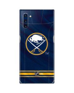 Buffalo Sabres Home Jersey Galaxy Note 10 Skin