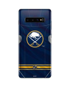 Buffalo Sabres Home Jersey Galaxy S10 Plus Skin