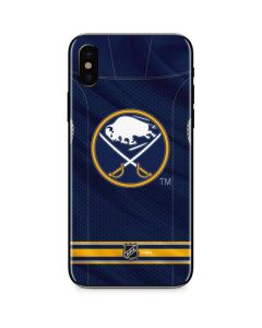 Buffalo Sabres Home Jersey iPhone XS Skin