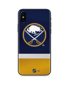 Buffalo Sabres Jersey iPhone X Skin