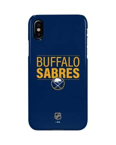 Buffalo Sabres Lineup iPhone XS Lite Case