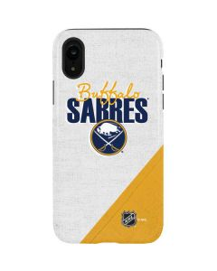 Buffalo Sabres Script iPhone XR Pro Case