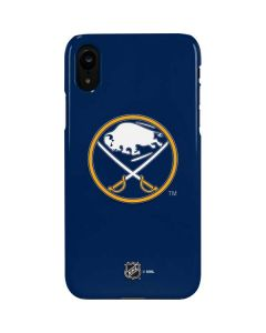 Buffalo Sabres Solid Background iPhone XR Lite Case