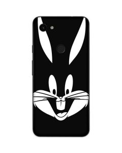 Bugs Bunny Plain Black and White Google Pixel 3a Skin