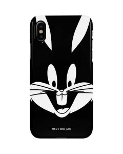 Bugs Bunny Plain Black and White iPhone XS Lite Case