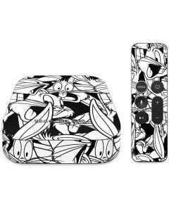 Bugs Bunny Super Sized Pattern Apple TV Skin