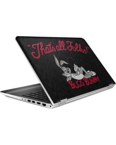 Bugs Bunny Thats All Folks HP Pavilion Skin