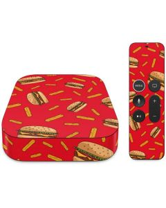 Burgers and Fries Apple TV Skin