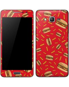 Burgers and Fries Galaxy Grand Prime Skin