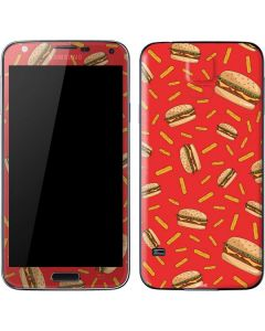 Burgers and Fries Galaxy S5 Skin