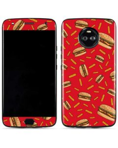 Burgers and Fries Moto X4 Skin