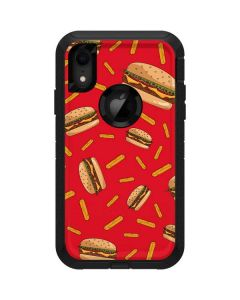 Burgers and Fries Otterbox Defender iPhone Skin