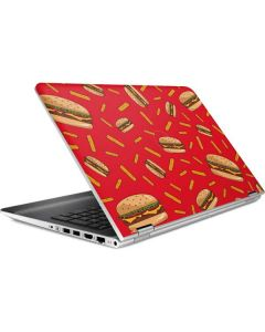 Burgers and Fries HP Pavilion Skin