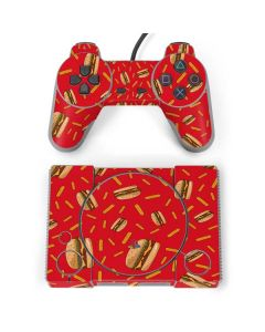 Burgers and Fries PlayStation Classic Bundle Skin