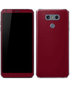 Burgundy LG G6 Skin