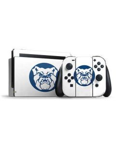 Butler Bulldog Logo Nintendo Switch Bundle Skin