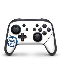 Butler Bulldog Logo Nintendo Switch Pro Controller Skin
