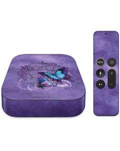 Butterfly Celtic Knot Apple TV Skin