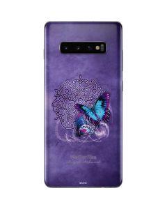 Butterfly Celtic Knot Galaxy S10 Plus Skin