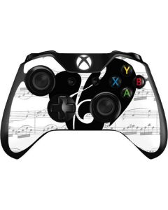 BW Musical Notes Xbox One Controller Skin