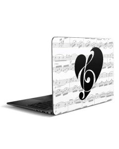 BW Musical Notes Zenbook UX305FA 13.3in Skin