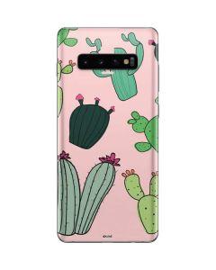 Cactus Print Galaxy S10 Plus Skin
