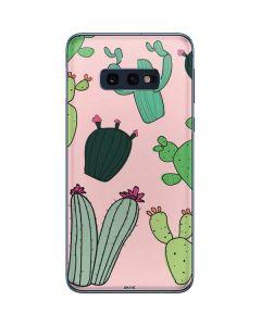 Cactus Print Galaxy S10e Skin
