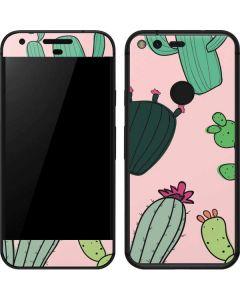 Cactus Print Google Pixel Skin