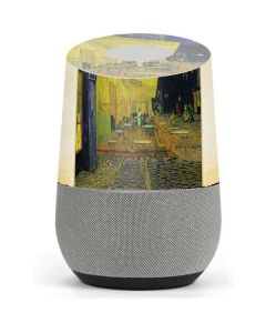 Cafe Terrace at Night Google Home Skin