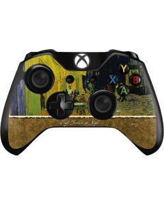 Cafe Terrace at Night Xbox One Controller Skin