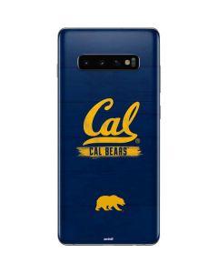 Cal Bears Galaxy S10 Plus Skin