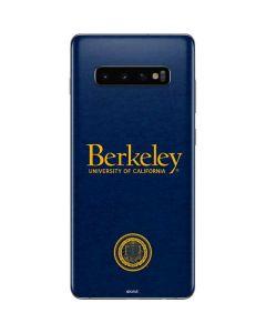 Cal Berkeley Galaxy S10 Plus Skin