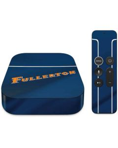 Cal State Fullerton Blue Jersey Apple TV Skin