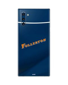 Cal State Fullerton Blue Jersey Galaxy Note 10 Skin