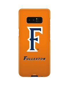 Cal State Fullerton Orange Galaxy Note 8 Lite Case