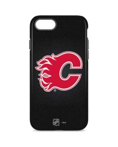 Calgary Flames Black Background iPhone 7 Pro Case